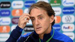 Italia, guaio per Mancini: due attaccanti lasciano il ritiro