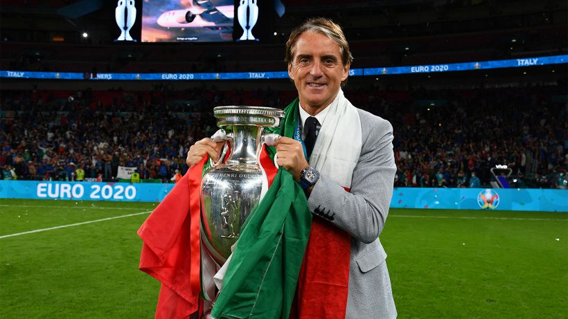 Italia campione, Roberto Mancini se la ride e punge l'Inghilterra
