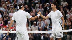 Wimbledon, Federer non lascia scampo a Sonego