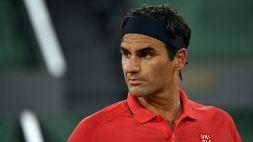 """Federer, l'inquietudine dopo la festa: """"Non so cosa accadrà"""""""