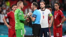 Euro 2020, Laser su Schmeichel: procedimento UEFA contro l'Inghilterra