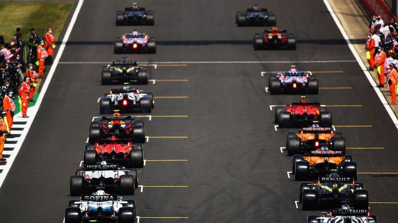 F1 Silverstone, weekend storico: cosa cambia e i nuovi orari