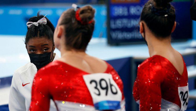 Le fragilità di Simone Biles,troppo umana: si ritira,Olimpiadi incerte