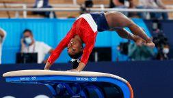 Olimpiadi: Simone Biles, l'ultimo esercizio prima del ritiro