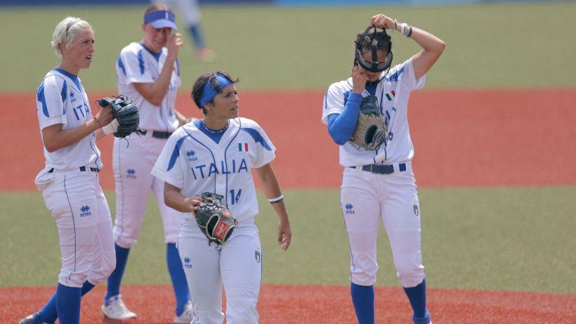 Tokyo 2020, l'Italia del softball cade ancora