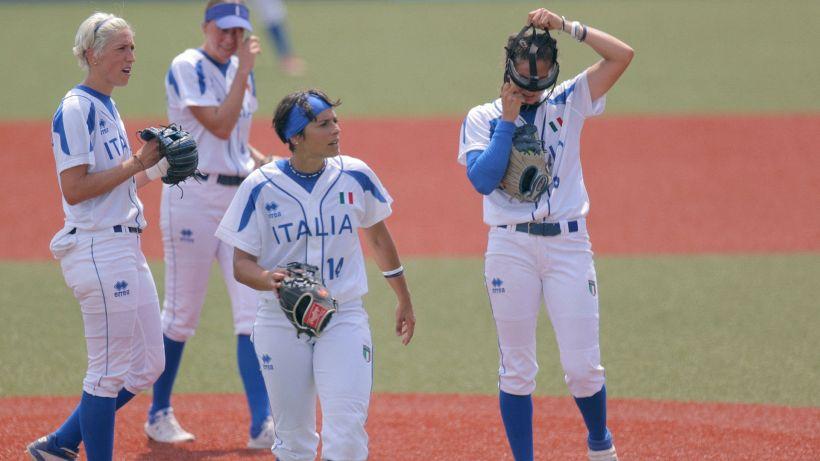 Tokyo 2020, softball: Italia sconfitta dagli USA