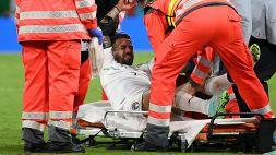 Italia, per Spinazzola confermata rottura del tendine d'Achille