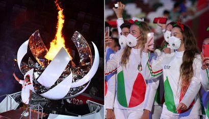Tokyo: Naomi Osaka accende la fiamma. Emozione Italia, orgoglio Egonu