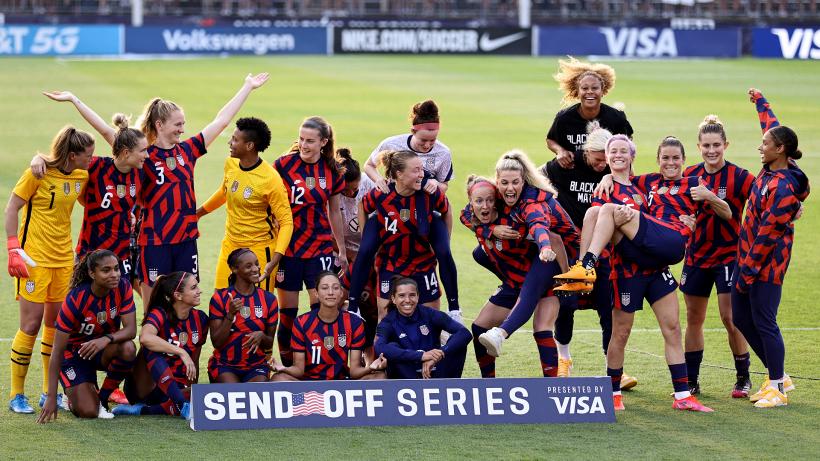 Calcio femminile, Tokyo 2020: Stati Uniti e Giappone in pole