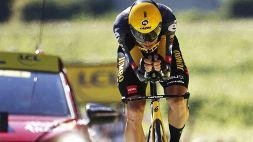 """Tour de France, van Aert: """"Fiero di quello che abbiamo ottenuto"""""""