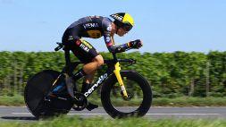 Tour de France, van Aert vince come da pronostico la 20° tappa: Pogacar controlla