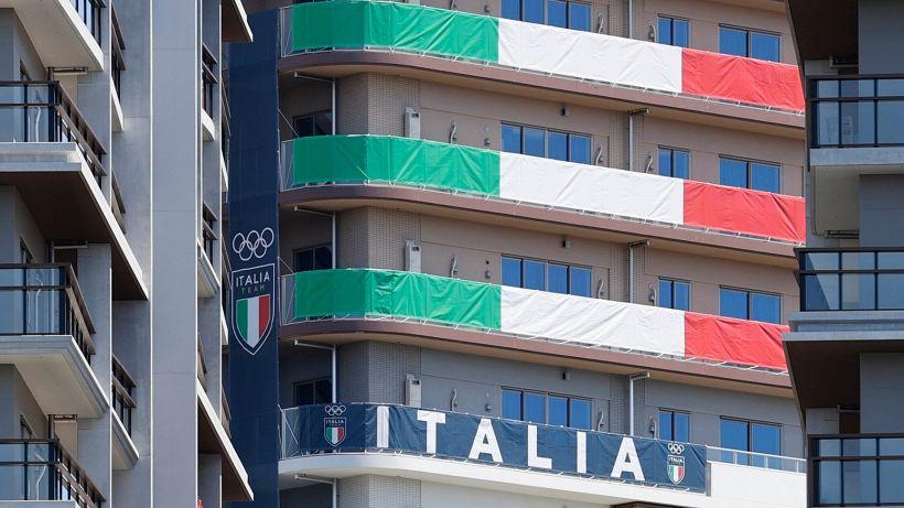 Tokyo 2020, sei atleti italiani in quarantena