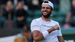 Wimbledon: Berrettini in semifinale, le foto