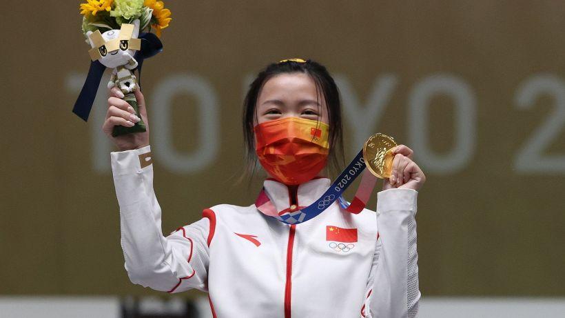 Tokyo 2020: il primo oro va alla cinese Yang Qian