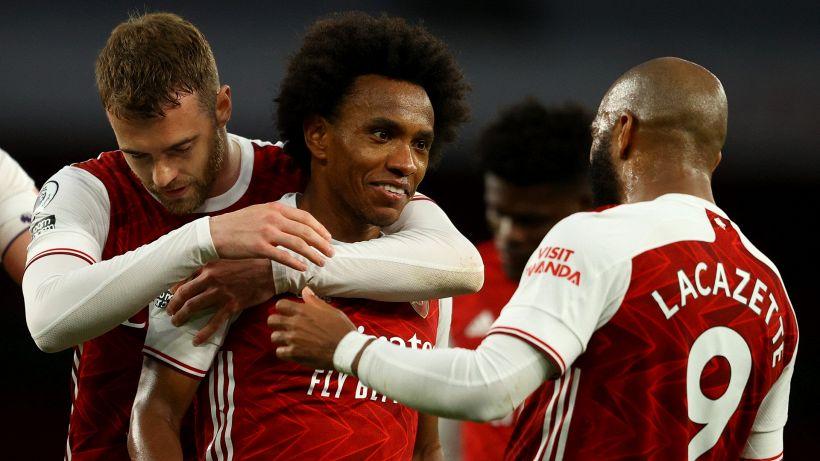 Willian lascia l'Arsenal: ufficiale, giocherà nel Corinthians
