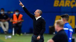 """Juve travolta, Allegri spegne le critiche: """"Soddisfatto della squadra, Inter favorita"""""""