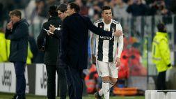 Juventus, Max Allegri dice tutto sul futuro di Cristiano Ronaldo