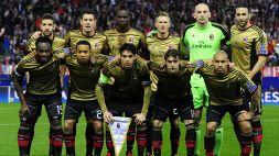 L'ultimo Milan in Champions: Poli, Balo e Taarabt