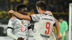Borussia Dortmund-Bayern Monaco 1-3: Supercoppa di Germania ai bavaresi