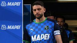Sassuolo, Berardi salta il Verona: out per un problema al piede