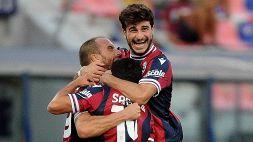Bologna-Salernitana 3-2: decide la doppietta di De Silvestri