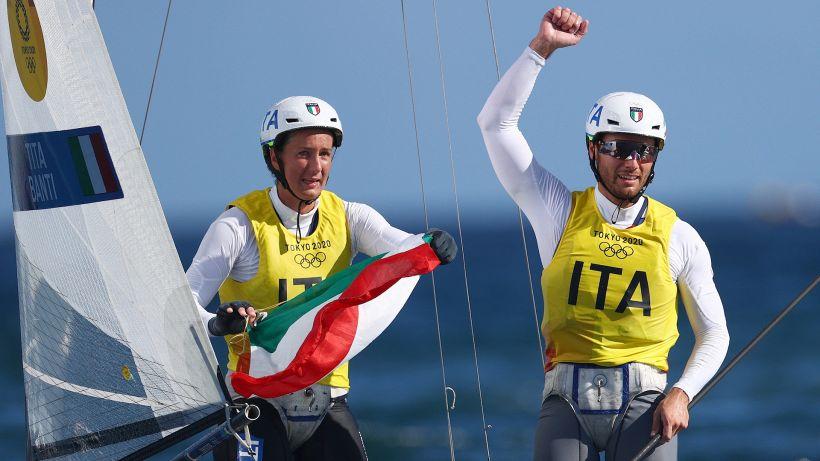 Tokyo 2020: Ruggero Tita e Caterina Banti oro nella vela!
