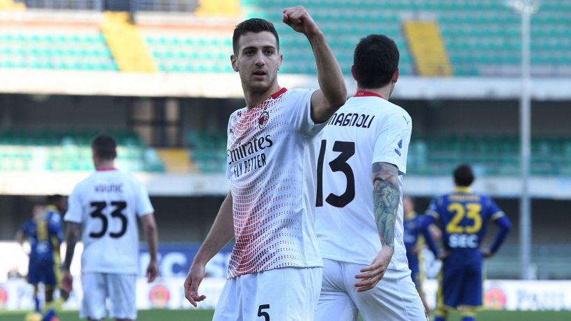 """Messaggio di Dalot allo United: """"Al Milan tutto perfetto"""""""