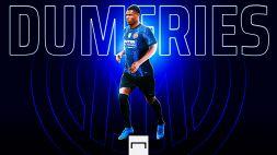 L'Inter piazza il colpo: è ufficiale l'arrivo di Dumfries