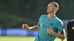 """Inter, Dzeko: """"Un grazie a Lukaku, ma noi guardiamo avanti"""""""