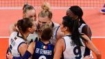 Olimpiadi, finisce ai quarti il sogno Italvolley femminile a Tokyo
