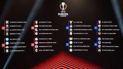 Sorteggi Europa League: va meglio al Napoli che alla Lazio