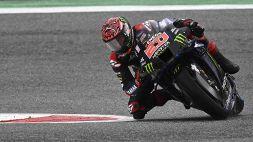 MotoGp, FP2: Quartaro vola dopo la caduta, seconda la Ducati