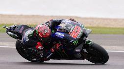 MotoGP: Quartararo domina a Silverstone, a picco Valentino Rossi