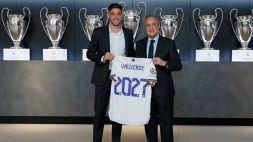 Real Madrid: Valverde rinnova fino al 2027