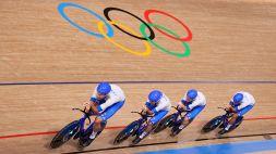 Pista, inseguimento a squadre: entrambi i quartetti in lizza per una medaglia