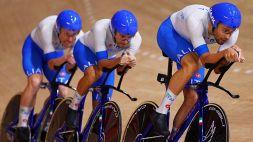 Mondiali di Ciclismo su pista: l'Italia davanti a tutti