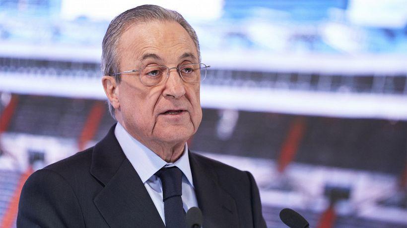 """Real Madrid, Florentino Perez: """"Ho convinto il Barca a vendere Messi? Falso"""""""