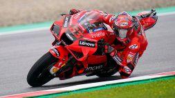 MotoGP, Stiria: a Bagnaia le terze libere
