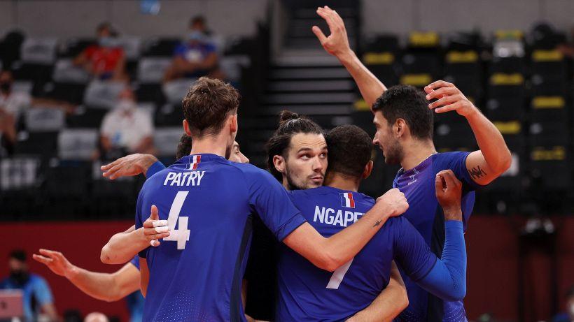 Tokyo 2020: dopo il basket, Francia in finale anche nella pallavolo maschile
