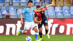 Il Napoli piega il Genoa, tifosi in coro: Deve proprio andarsene?