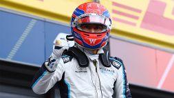 """F1, Russell: """"La prima fila è qualcosa di incredibile"""""""
