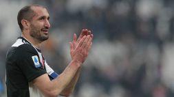 Chiellini e la Juventus avanti insieme: ufficiale il rinnovo fino al 2023