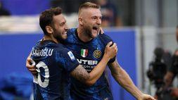 Inter subito devastante con Calhanoglu e Dzeko: poker al Genoa