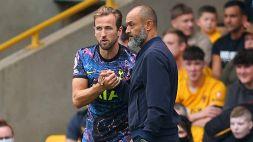 Tottenham, Nuno Espirito Santo applaude la scelta di Kane