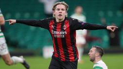 Hauge all'Eintracht: quanto incasserà il Milan