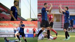 Inter, Dzeko subito in gol: le prime immagini in maglia nerazzurra