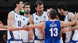 Volley maschile, l'Italia travolge il Venezuela e chiude al secondo posto