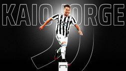 La Juventus conferma: Kaio Jorge è un nuovo giocatore bianconero