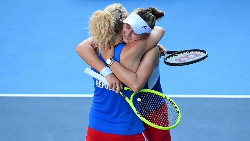 Tokyo 2020, Barbora Krejcikova e Katerina Siniakova oro nel doppio femminile