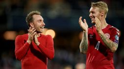 Milan, Kjaer premiato dall'Uefa: Eriksen ringrazia l'amico